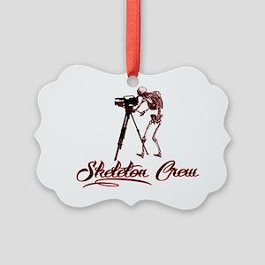 Skeleton Crew Picture Ornament