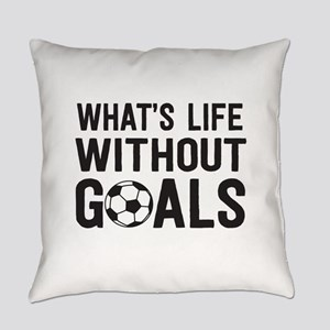 soccer - whats life without goals Everyday Pillow