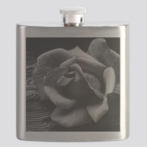 Ansel Adams Rose And Driftwood Flask