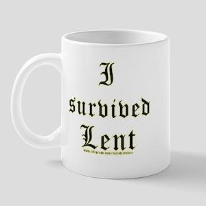 I Survived Lent  Mug