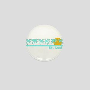 St. Lucia Mini Button