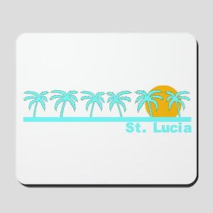 St. Lucia Mousepad