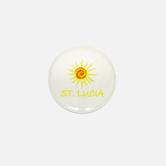 St. Lucia Mini Button