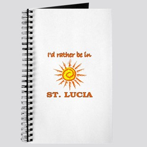 I'd Rather Be In St. Lucia Journal