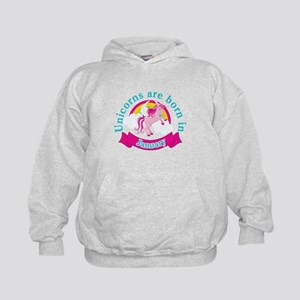 Unicorns Are Born In January Sweatshirt