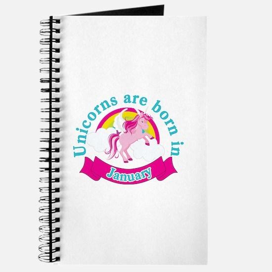 Unicorns Are Born In January Journal