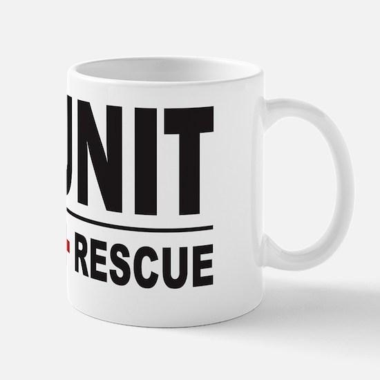 K9 Unit Search Rescue Sticker Mug
