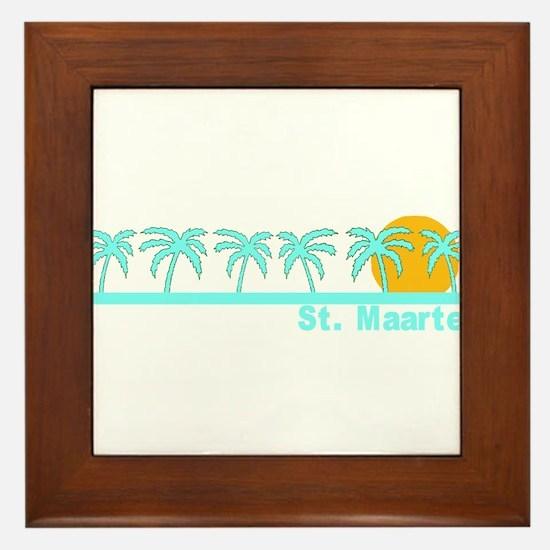 St. Maarten Framed Tile