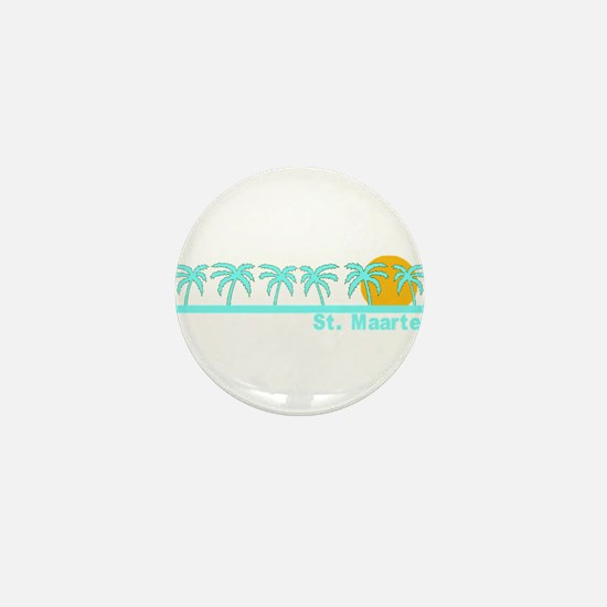 St. Maarten Mini Button