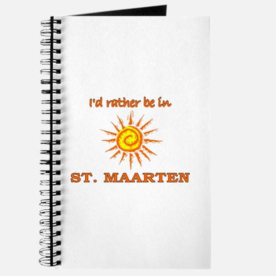 I'd Rather Be In St. Maarten Journal