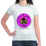 Women's Ringer T-Shirt - Silly CCLS Logo