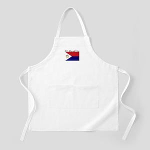 St. Maarten Flag BBQ Apron