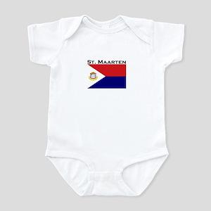 St. Maarten Flag Infant Bodysuit