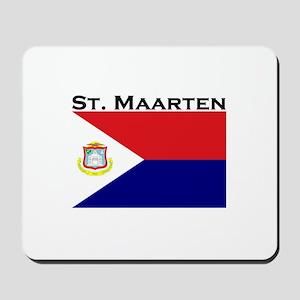 St. Maarten Flag Mousepad