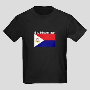 St. Maarten Kids Dark T-Shirt