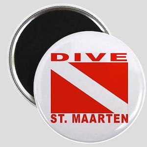 Dive St. Maarten Magnet
