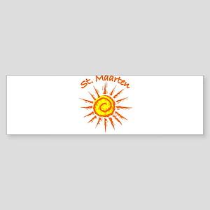St. Maarten Bumper Sticker