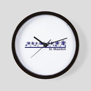 St. Maarten Wall Clock