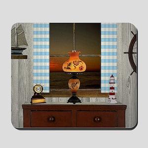 Hurricane Lamp Mousepad