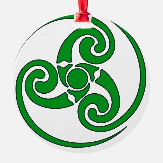 Celtic Spiral Ornament