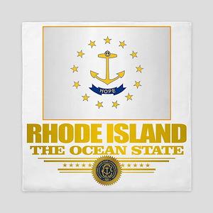 Rhode Island Flag Queen Duvet
