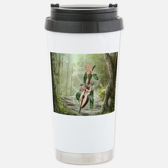 The Elven Forest Stainless Steel Travel Mug