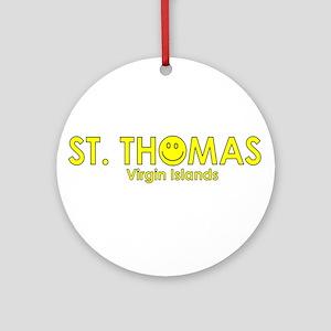 St. Thomas, USVI Ornament (Round)