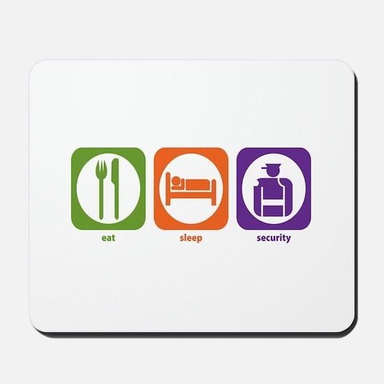 Eat Sleep Security Mousepad