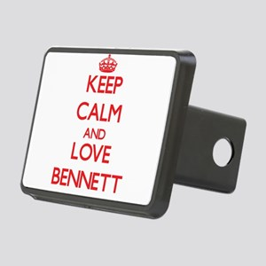Keep calm and love Bennett Hitch Cover