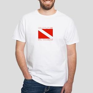 Dive St. Thomas, USVI White T-Shirt