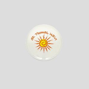 St. Thomas, USVI Mini Button