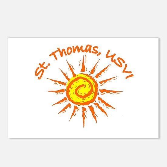 St. Thomas, USVI Postcards (Package of 8)