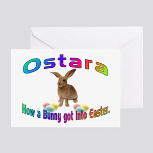 Ostara how a Bunny got into Easter Greeting Cards
