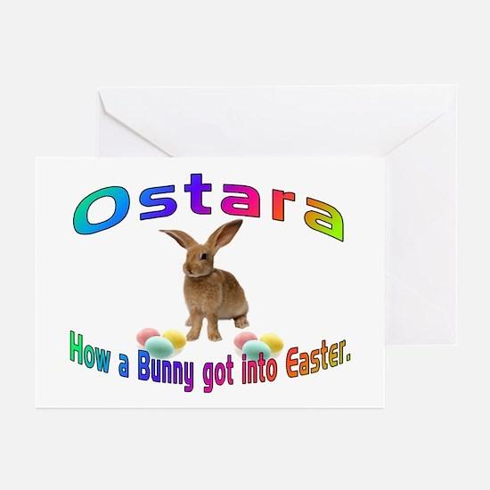 Ostara how a Bunny got into Easter Greeting Cards