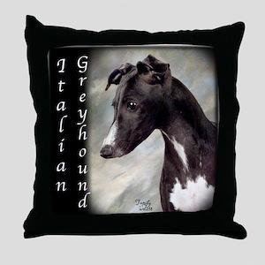 Italian Greyhound- IG Throw Pillow