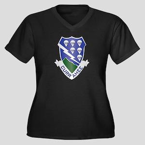 DUI - 1st Bn - 506th Infantry Regt Women's Plus Si