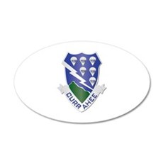 DUI - 1st Bn - 506th Infantry Regt Wall Decal