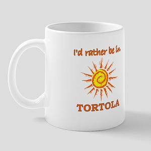 I'd Rather Be In Tortola Mug