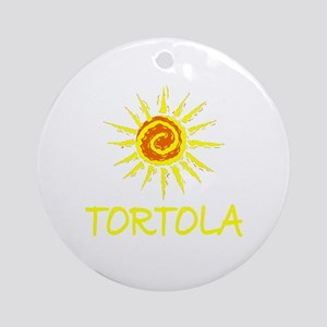 Tortola Ornament (Round)