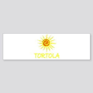 Tortola Bumper Sticker