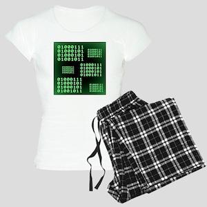 Binary code for GEEK Women's Light Pajamas