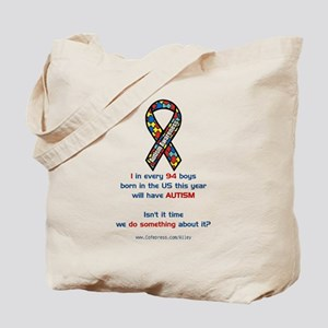 1 in 94 Autism Tote Bag