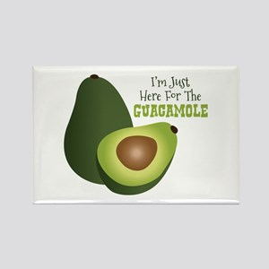 Im Just Here For The GUACAMOLE Magnets