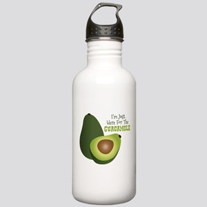 Im Just Here For The GUACAMOLE Water Bottle