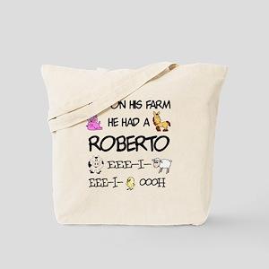 Roberto had a Farm Tote Bag