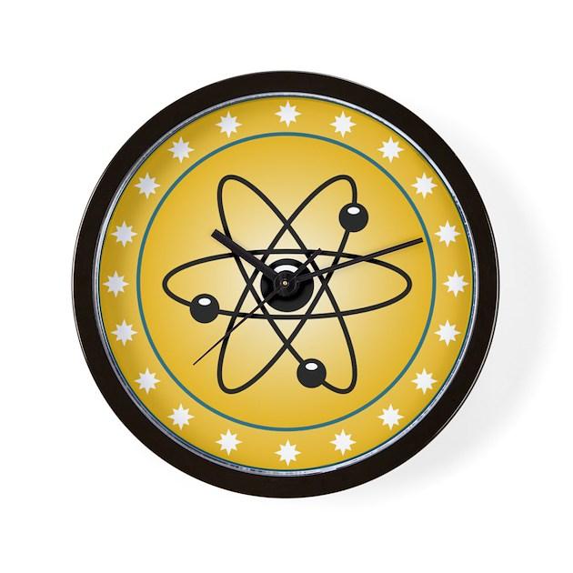 The Mighty Atom Wall Clock By Stircrazy