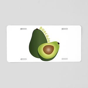 Avocado Aluminum License Plate