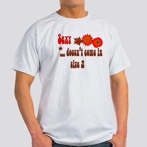 Sexy Curvy Lady Light T-Shirt