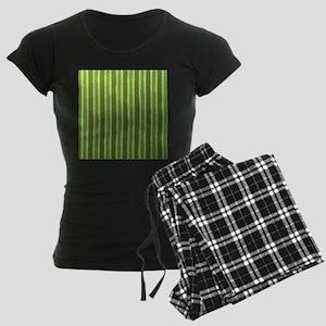 stripes green Pajamas