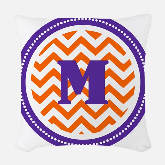 Clemson M Woven Throw Pillow